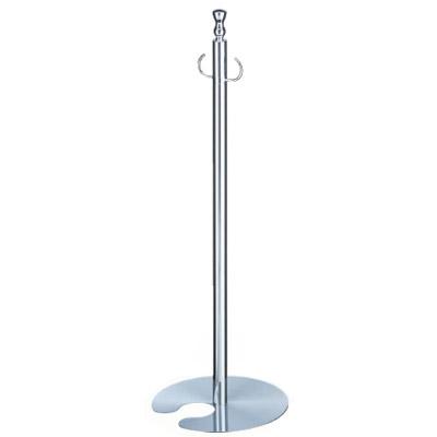 シロクマ フロアパーティションポール スタッキング クローム/鏡面 1本価格 ※メーカー取寄品 FPP-0202