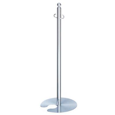 シロクマ フロアパーティションポール スタッキング クローム/ヘアーライン 1本価格 FPP-0205