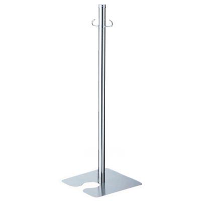 シロクマ フロアパーティションポール スタッキング クローム/鏡面 1本価格 ※メーカー取寄品 FPP-0407