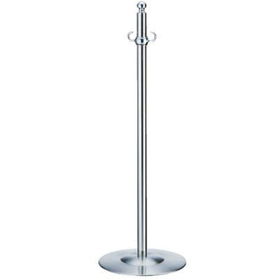 シロクマ フロアパーティションポール クローム/鏡面 1本価格 ※メーカー取寄品 FPP-1310