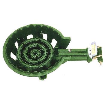 伊藤産業 鋳物コンロ 3連コンロ(種火なし)LPガス※メーカー直送品 KP-30