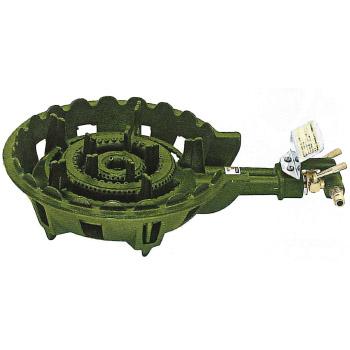 伊藤産業 鋳物コンロ 2連コンロ 種火なし 都市ガス 12A・13A ※メーカー直送品 KT-20