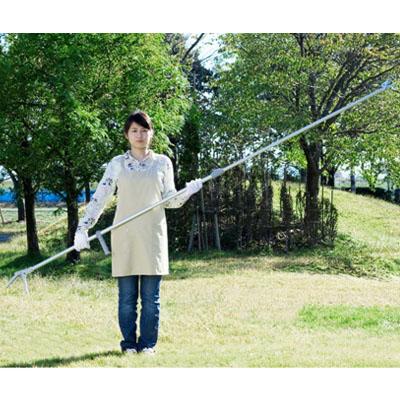 五十嵐刃物工業 PRUMAN(プルーマン伸縮ラッチェット式 高枝切鋏 鋸付 RT-05