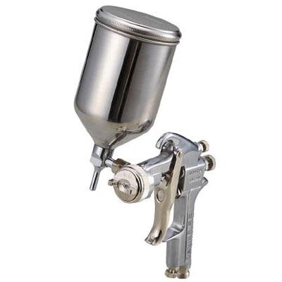 トラスコ スプレーガン重力式 ノズル径1.1mm 0.4L ステンレスカップセット TSG-508G-11SS