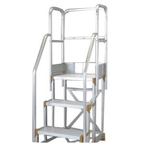 トラスコ 2段用階段横手すりセット(257用) H=900&1100兼用 TSF-P10B