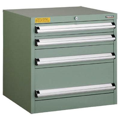 最も優遇の VE6S-607:大工道具・金物の専門通販アルデ 600×550×H600 引出4段※メーカー直送品 VE6S型中量キャビネット トラスコ-DIY・工具
