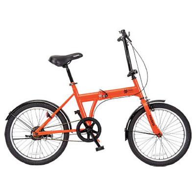 トラスコ 構内・災害時用ノーパンク自転車 「ハザードランナー」 20インチ THR5520