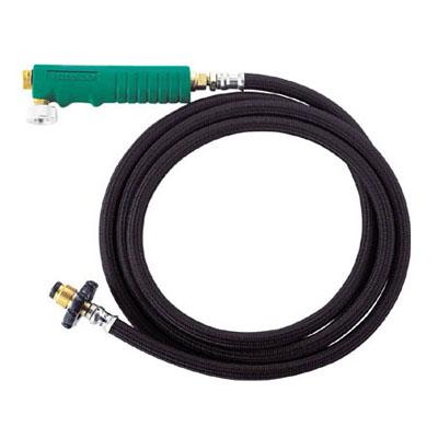 トラスコ プロパンバーナー用ホースセット(バルブ付)2m(1個価格) TB-H2MB