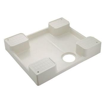 カクダイ 洗濯機用防水パン アイボリー 426-417
