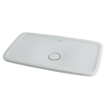カクダイ 角型洗面器 ※メーカー直送品 #DU-0370700000
