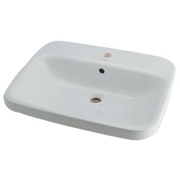 角型洗面器 ※メーカー直送品 カクダイ #DU-0374620000