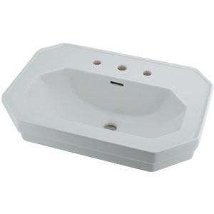 カクダイ 壁掛洗面器 3ホール 12.5L ※メーカー直送品 #DU-0438700030