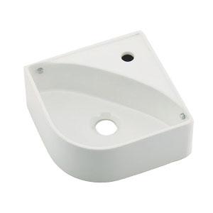 カクダイ 壁掛手洗器 ホワイト 493-150-W