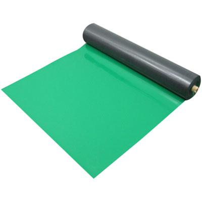 MF エンビシート 平ツヤ 緑 1.2mmt×1000mm幅×20m巻(5本価格) メーカー直送品代引利用不可