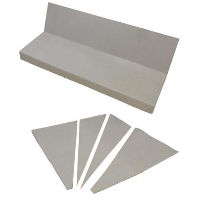 MF ろくはら階段(廻り用)直用10枚+廻り用2枚+紙管6本/箱(3箱価格) メーカー直送品代引利用不可