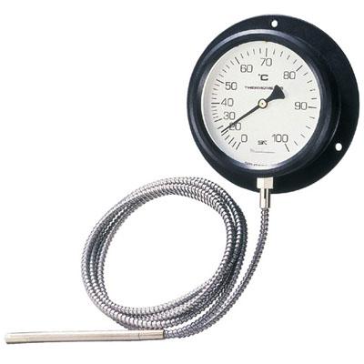 佐藤計量器 壁掛型隔測式温度計 VB-100P 0~80℃ ※取寄品 4300-08