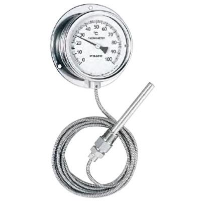 佐藤計量器 隔測式温度計 LB-100S -50~50℃ ※メーカー直送品 3000-55