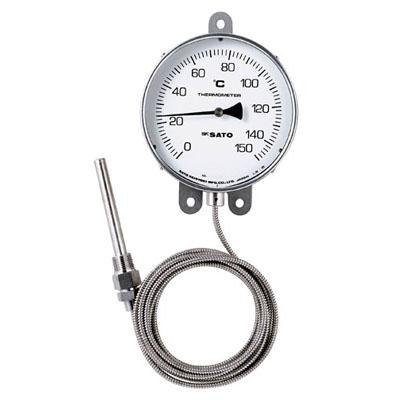佐藤計量器 隔測式温度計 LB-150S 0~200℃ ※メーカー直送品 3020-20