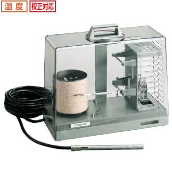 佐藤計量器 シグマ2型隔測式温度記録計(1針) ※メーカー直送品 7200-00