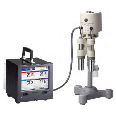 佐藤計量器 ペーパーレス温湿度記録器 ハイグロステーションMR SK-5RAD-MR ※メーカー直送品 7435-50