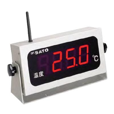 佐藤計量器 コードレス温度表示器 SK-M350R-T(指示計のみ) ※メーカー直送品 8101-00