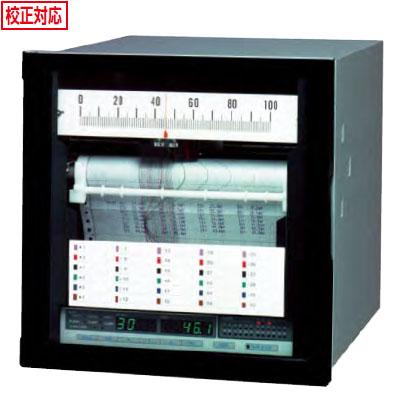 佐藤計量器 電子式記録計(ハイブリッドレコーダー 180mm幅)SKR-M18-24(24打点式) ※メーカー直送品 8097-XX