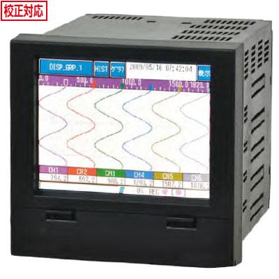佐藤計量器 電子式記録計(ペーパーレスレコーダー)SKR-SD10-03(3ch) ※メーカー直送品 8098-XX