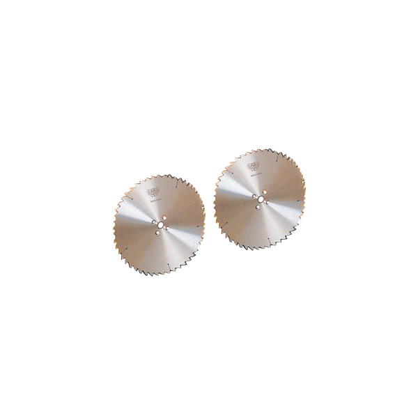 ツムラ 角鳩 ホゾ取チップソー 日立用 255mm×2.6×40P 縦挽 両側 左右セット 2枚組価格