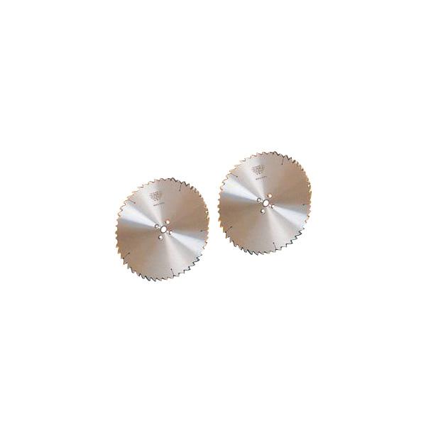 ツムラ 角鳩 ホゾ取チップソー リョービ用 255mm×2.6×40P 縦挽 両側 左右セット 2枚組価格