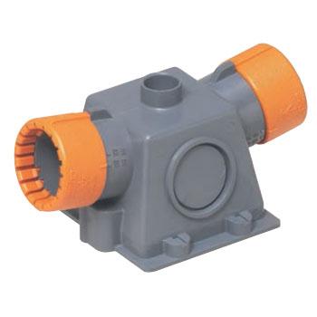 未来工業 CD単層波付管16用プラスエンド スクリュー釘なし(50個価格) CDE-16WPG