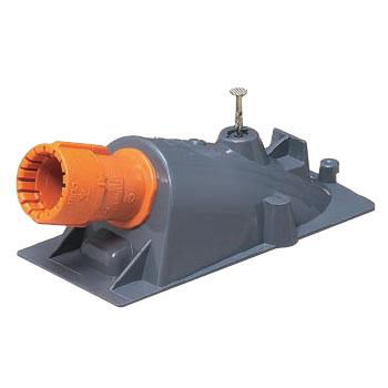 エンドカップリング(Gタイプ)CD単層波付管28⇒CD単層波付管28 カバー色赤(50個価格) 未来工業 CDE-28CGR