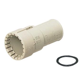 未来工業 コンビネーションカップリング Gタイプ 防水型(ミラフレキSS専用)(100個価格) MFSVE-14GP