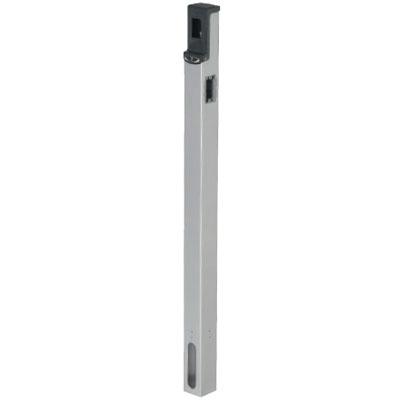 給電ポール(埋設タイプ)シルバー 2箇所(正面・側面)(1個価格) 未来工業 MRP-2