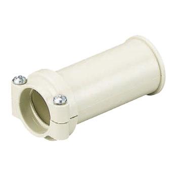 コンビネーションカップリング ミルキーホワイト PF管36⇔VE管36(50個価格) 未来工業 FPVE-36M