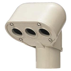 エントランスキャップ ミルキーホワイト(1個価格) 未来工業 MEC-100M