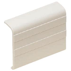 巾木モール付属品ストレート ミルキーホワイト(200個価格) 未来工業 PHMS-55M