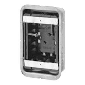 未来工業 鋼製カバー付スライドボックス(省令準耐火対応)(磁石なし)1ヶ用(50個価格) SBG-1FO