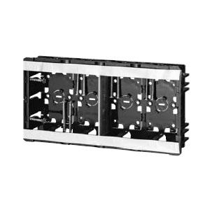 小判スライドボックス(磁石なし)4ヶ用(20個価格) 未来工業 SBG-4WO