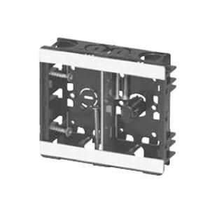 小判スライドボックス(センター磁石付・浅形)2ヶ用(50個価格) 未来工業 SBG-SWM