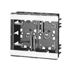小判スライドボックス(磁石なし・浅形)2ヶ用(50個価格) 未来工業 SBG-SWO