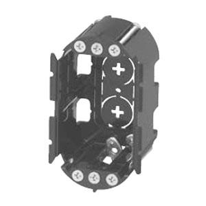 小判穴ホルソー用パネルボックス 1ヶ用(40個価格) 未来工業 SBP-1GY