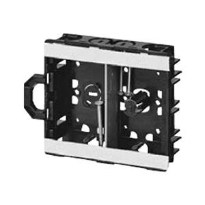 軽間ボックス(浅形()センター磁石付)2ヶ用(50個価格) 未来工業 SBS-KMA2G