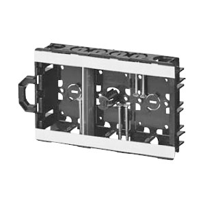 軽間ボックス(浅形()センター磁石付)3ヶ用(20個価格) 未来工業 SBS-KMA3G