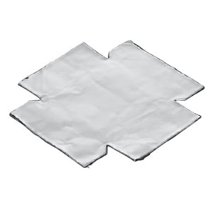 あと付け遮音カバー 埋込スイッチボックス用(樹脂・鉄製)6ヶ用(10枚価格) 未来工業 CSS-CSW6