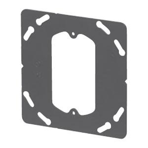 鉄製平塗代カバー 大形四角 小判型(スイッチカバー1個用・平)(100個価格) 未来工業 OFL-12-F