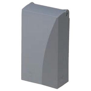 防水引込みカバー(eデザイン)グレー(10個価格) 未来工業 WKH-2G