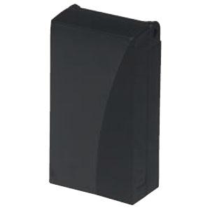 防水引込みカバー(eデザイン)黒(10個価格) 未来工業 WKH-2K