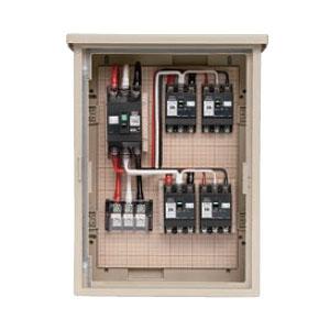 屋外電力用仮設ボックス(主回路・中継回路用)(1個価格) 未来工業 5A-4M10TB