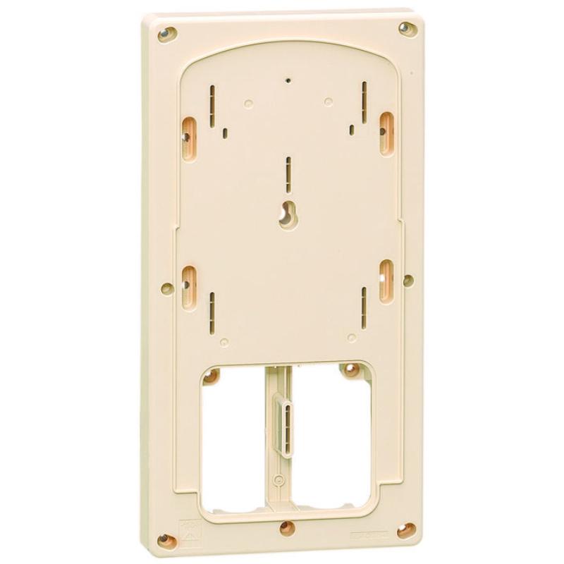 計器箱取付板 アイボリー 三相小(M)計器箱用(10個価格) 未来工業 BP-2TLHI