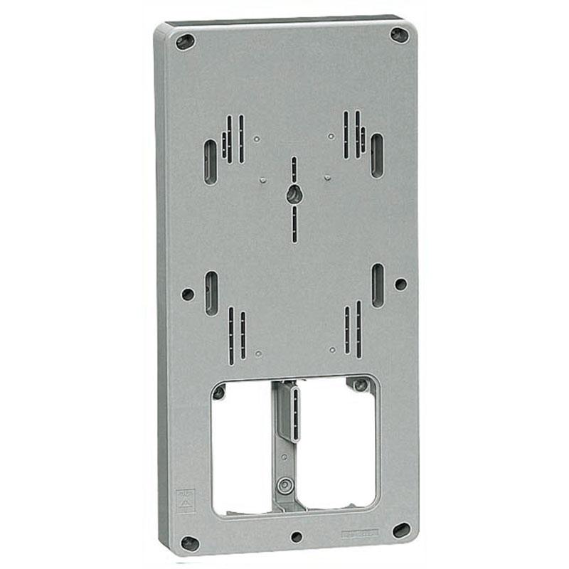 計器箱取付板 グレー 三相大(L)計器箱用(5個価格) 未来工業 BP-3TLG